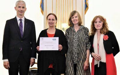 Consécration conjointe SGDL – Ministère de la Culture pour Anne Colin du Terrail