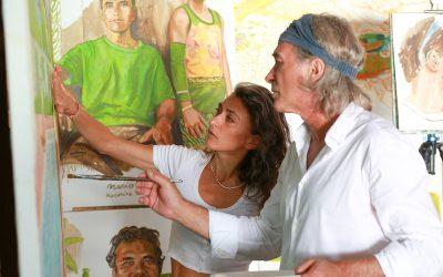 Escales en Polynésie avec Titouan et Zoé Lamazou
