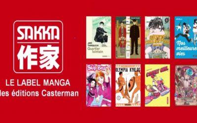 MANGA, la collection Sakka aux éditions Casterman